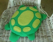 Weighted Turtle Stuffed Animal - Big Belly the Turtle - 4lb Turtle