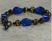 Vintage German Glass Bracelet