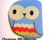 Owl Magnets- Pack of 4