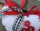 Cozy Heart Ornament