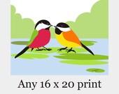 Any Print As A 16x20 - nursery art,kitchen art,Modern Wall Art,Office Decor,Minimalist Art,Poster Gift Home Decor Birthday gift for her