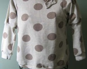 RESERVED LISTING for Rossella: Macro dots sweatshirt