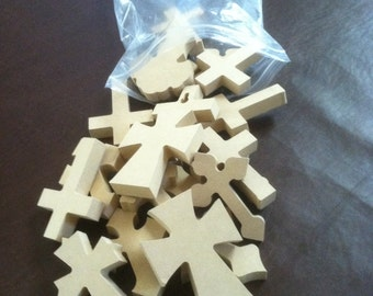 """Bag of Crosses, 50 2 1/2"""" x 4""""  X 1/4 """". We pick the style and you save, Free shipping. Listed  3-9-12 A"""