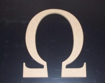 "2 24"" Unfinished Wooden Greek Sorority Letters, w/Keyhole, Upsilon, Iota, Omega, Kappa, Xi 22.00 ea. Free Shipping 24GK50X2  114"