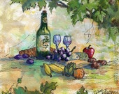 Wine Country Back Roads Collection: How a Picnic is Done