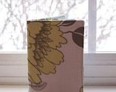Cloth Passport Cover - Sand Tree Peony
