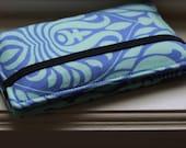 Periwinkle Bali Gate Smartphone Wallet Case