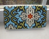 Checkbook Cover in Amy Butler Fabric