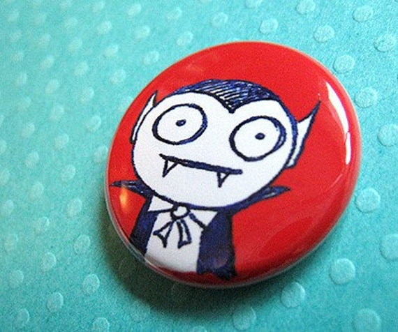 Epitome of Evil - Vampire Pin or Magnet