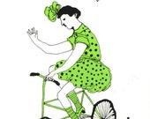 Cherchez la Femme - green