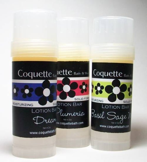 Closeout Lotion Bar, select scents, 2 scent combo