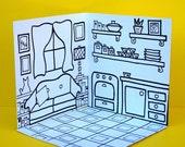 Mobile Mini Colorin House