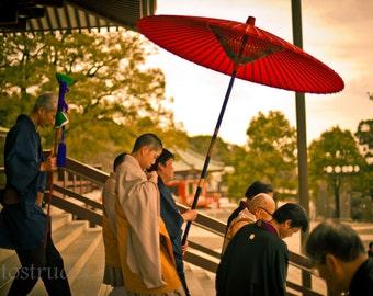 Japan Fine Art Photograph. At the Temple. Narita, Japan 8x12