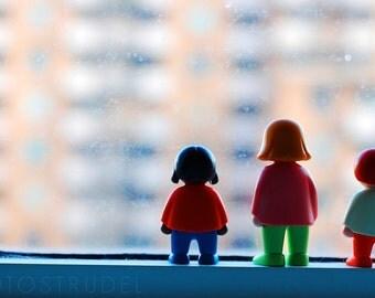 Toronto Photograph. Window Shopping / The Three. 8x12