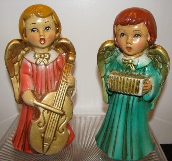Angels Pair of VIntage from the 1960s