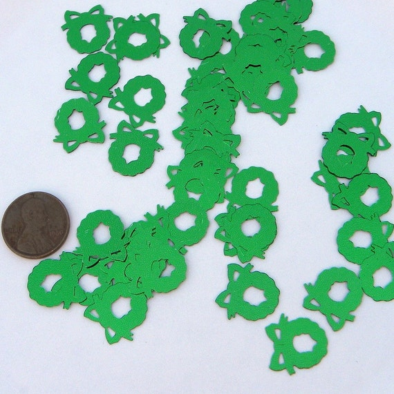 SEQUINS  - Christmas Wreaths - Greens - LAST PACKAGE