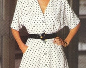 See and Sew Pattern 6248 - Misses Dress, 1992
