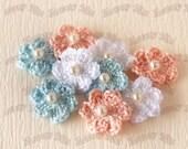 Crochet flower (22mm) - PL-12