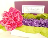 Pink Rose Bud Decorative Reeds - Flower Replacement Reeds