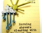 Mini Rain and Sunshine Necklace