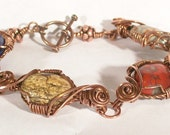 Bracelet - Wrapture in copper