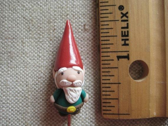 One Lone Gnome for a Tiny Terrarium