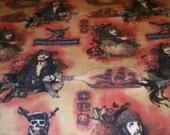 Pirates of the Caribbean Large Fleece Blanket