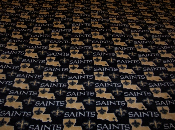 New Orleans Saints Fleece Blanket