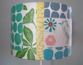 Fabric Collage Lamp Shade