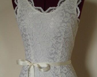 Wedding Sash Satin Ribbon Bridal Belt Skinny Bridesmaid Sashes -WHITE OR IVORY