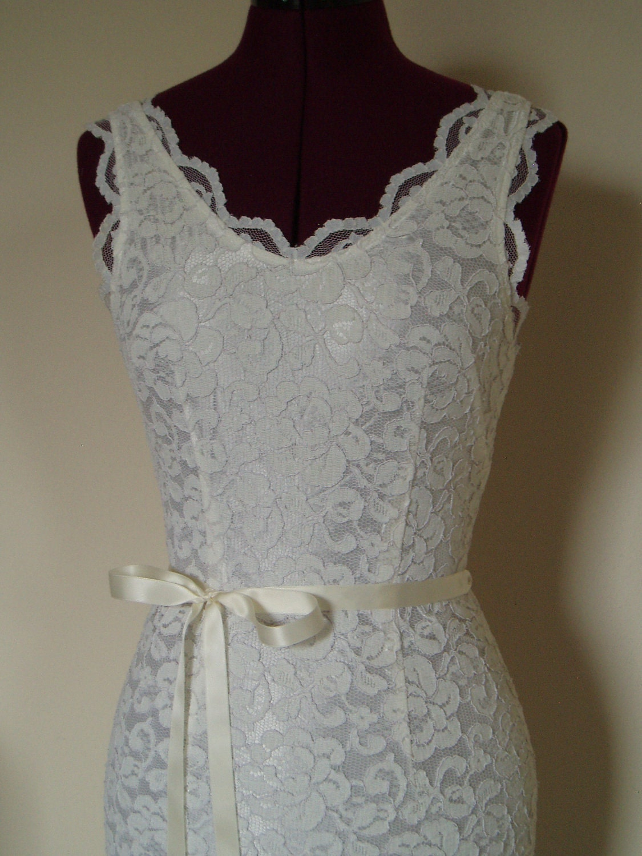 Wedding Dresses For Thin Brides : Bridal sash skinny wedding dress plain ribbon bridesmaid