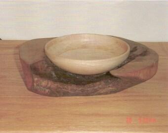 Walnut-Maple Bowl