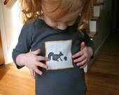 Squirrel n' Nut  Long Sleeve Shirt for Babies and Kids