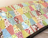 Twin Bed Quilt, Lap Quilt, Sofa Throw - Verna's Shabby Chic Tumbler