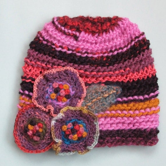 Newborn Pansy Hat