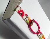 Fuschia Flowers BookWorm - Size Small