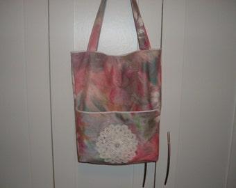 ON SALE Pink Tote Bag