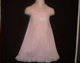 Pink Halter Dress for Baby