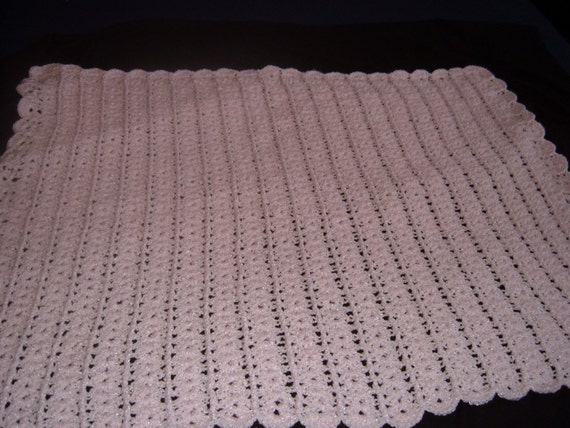 Light Pink Baby Blanket