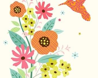 Utopian Garden Art Print