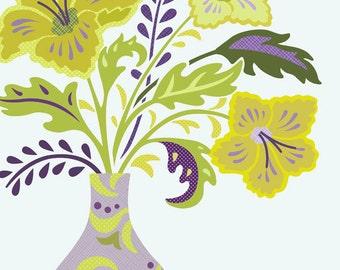 Bouquet Number 5 Art Print