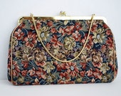 Reserved for Jeeb Vintage Floral Print Purse