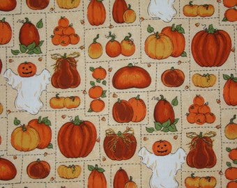 "Pumpkins & Ghosts 44""x70"""