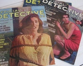 Official Detective Stories MAGAZINES from 1960s