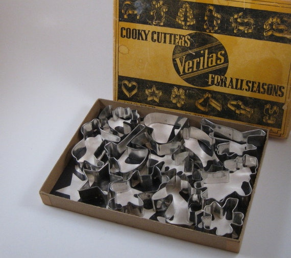 Vintage Cooky Cutters by Veritas For All Seasons