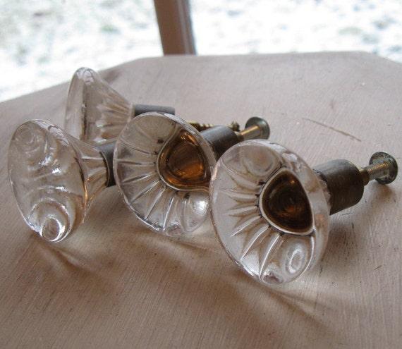 FaBuLouS Vintage Glass Drawer Pulls