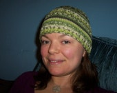 Wool Green Hat