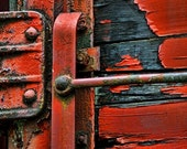 "Weathered Boxcar - 9""x13"" Giclée Fine Art Color Photograph with 1/2"" border printed on Moab Entrada RAG 300 gsm BW"