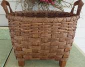 Footed Storage Basket