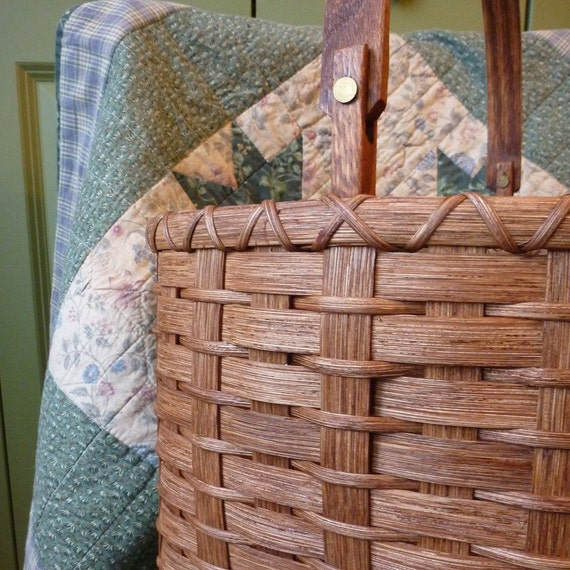 Swing-Handled Country Basket